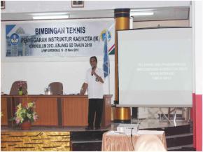 Bimbingan Teknis Penyegaran Instruktur K-13 Kab/Kota Jenjang SD