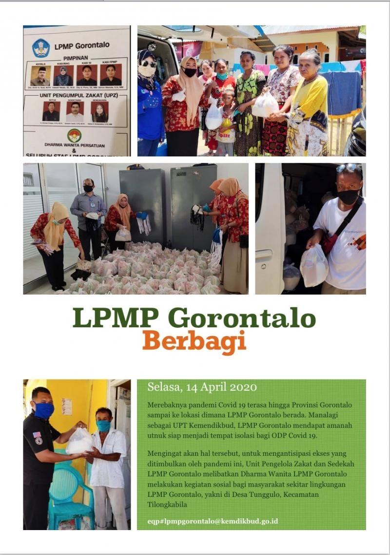 LPMP Gorontalo BERBAGI