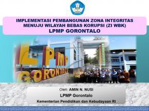 Presentase Kepala LPMP 2018 Bagian 1