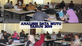 ANALISIS DATA MUTU TAHUN 2019