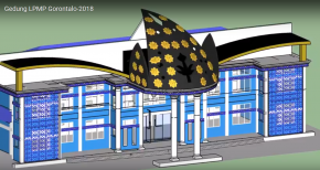 Gedung LPMP Gorontalo-2018