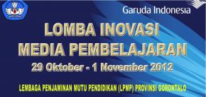 LPMP Gorontalo - 2012 Lomba Inovasi Media Pembelajaran